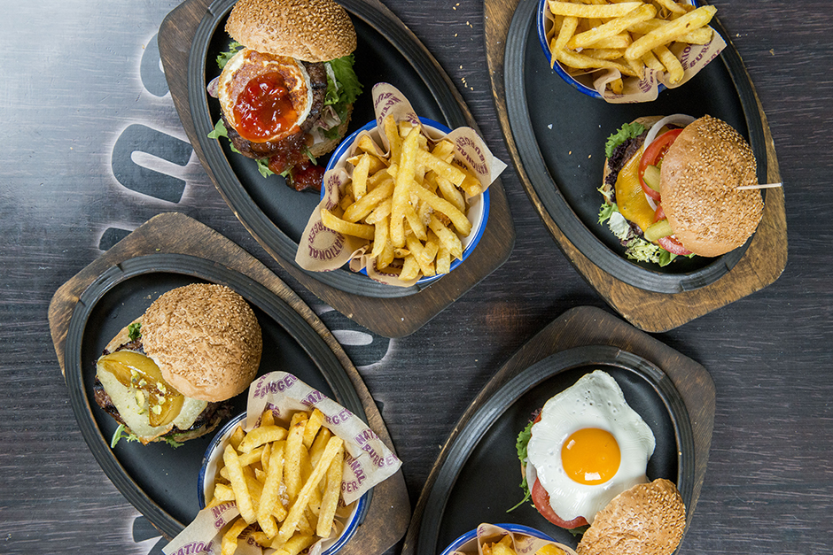 Platos principales National Burger