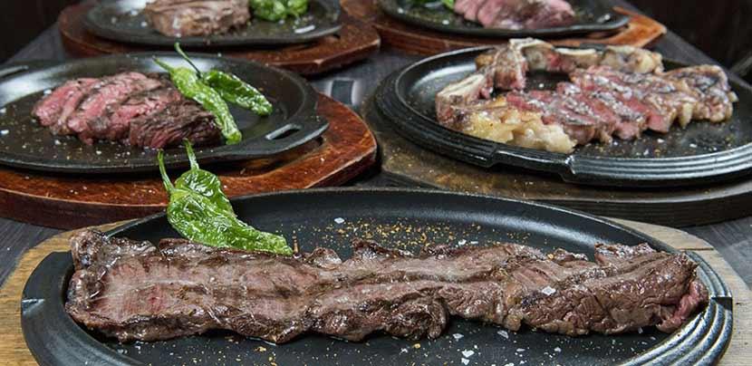 Carnes a la brasa National Burger Barcelona