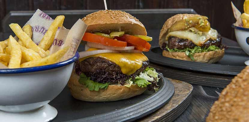 Hamburguesas National Burger Barcelona